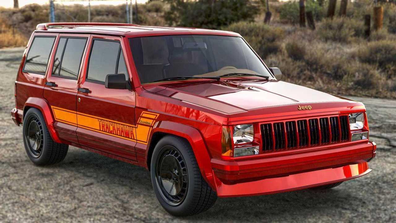 1989 Jeep Cherokee Trackhawk