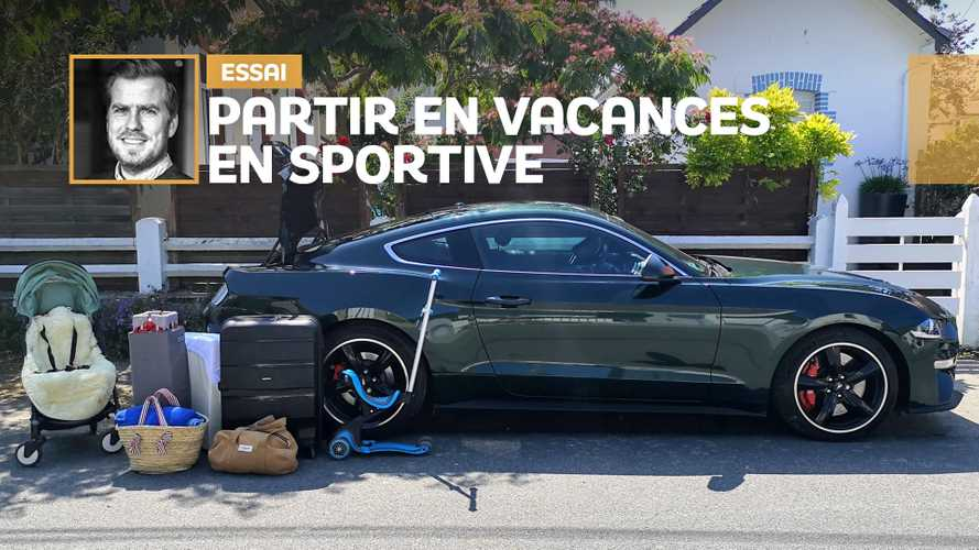 Ford Mustang Bullitt - Vacances en famille et en sportive !