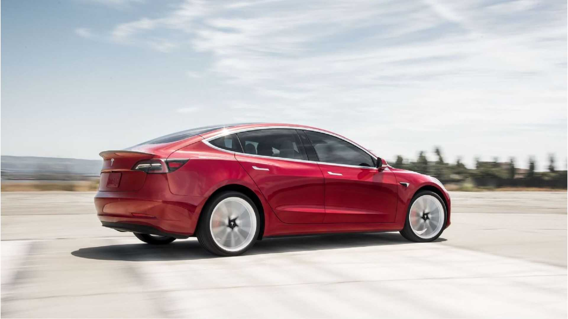 Tesla Model 3 Awd >> Motor Trend Says Tesla Model 3 Long Range Awd Is Faster Than