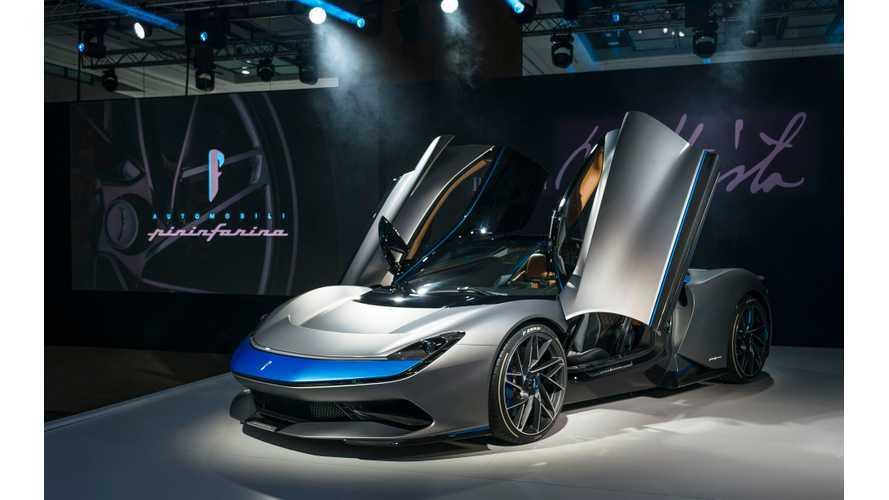 Pininfarina Battista Electric Hypercar: Photos & Videos Galore