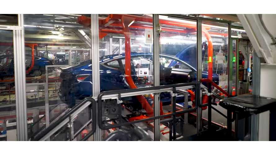 Check Out This Amazing Look Inside The Tesla Fremont Factory