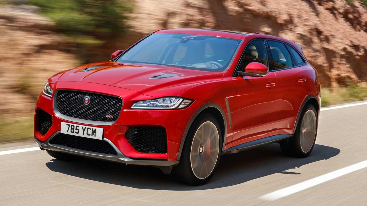 2019 jaguar f pace svr first drive photos. Black Bedroom Furniture Sets. Home Design Ideas
