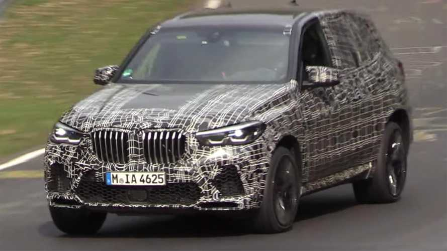 BMW X5 M Spied On Video Running Around The Nürburgring