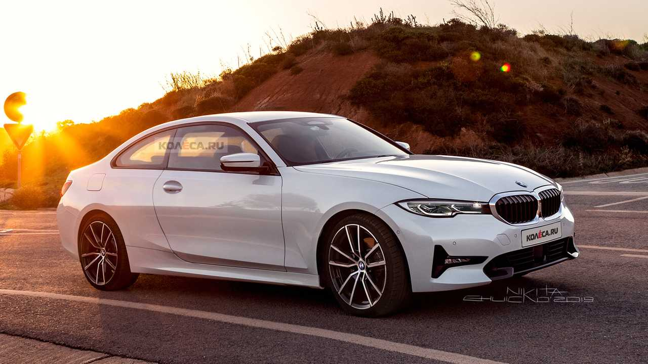 2020 bmw 4 series coupe rendering photos