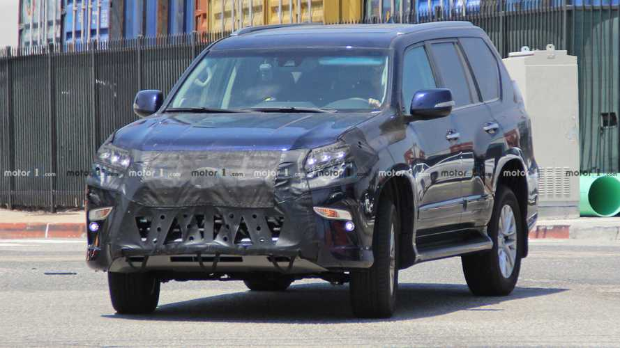 Lexus GX Spied Trying To Hide A Nose Job