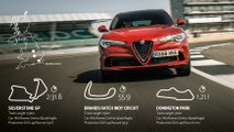 Alfa Romeo British SUV lap records