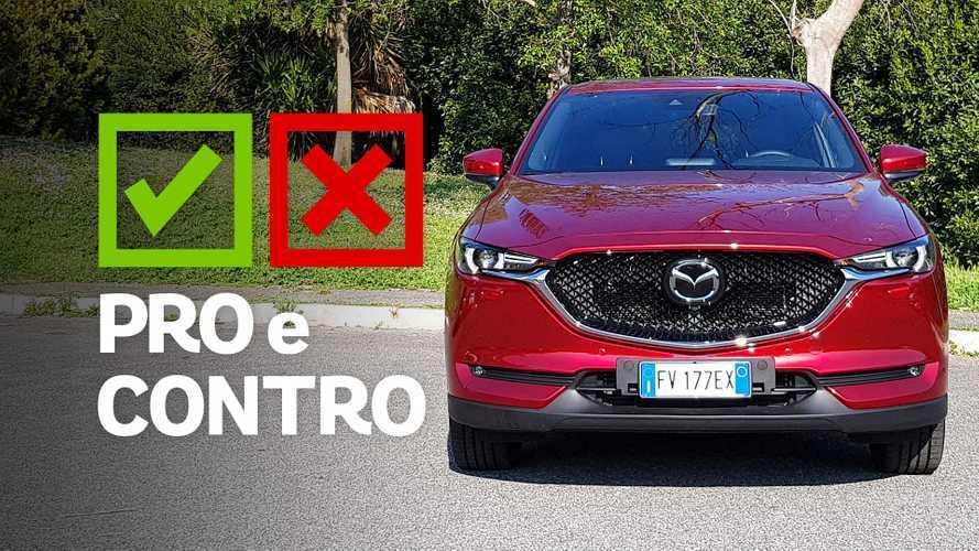 Mazda CX-5 2.2 diesel Signature AWD, pro e contro