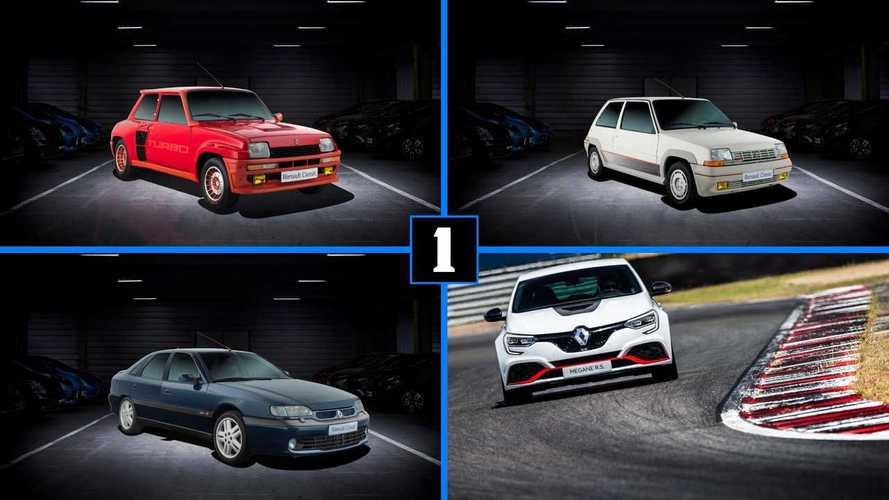 40 años de los Renault Turbo, ¡descúbrelos todos!