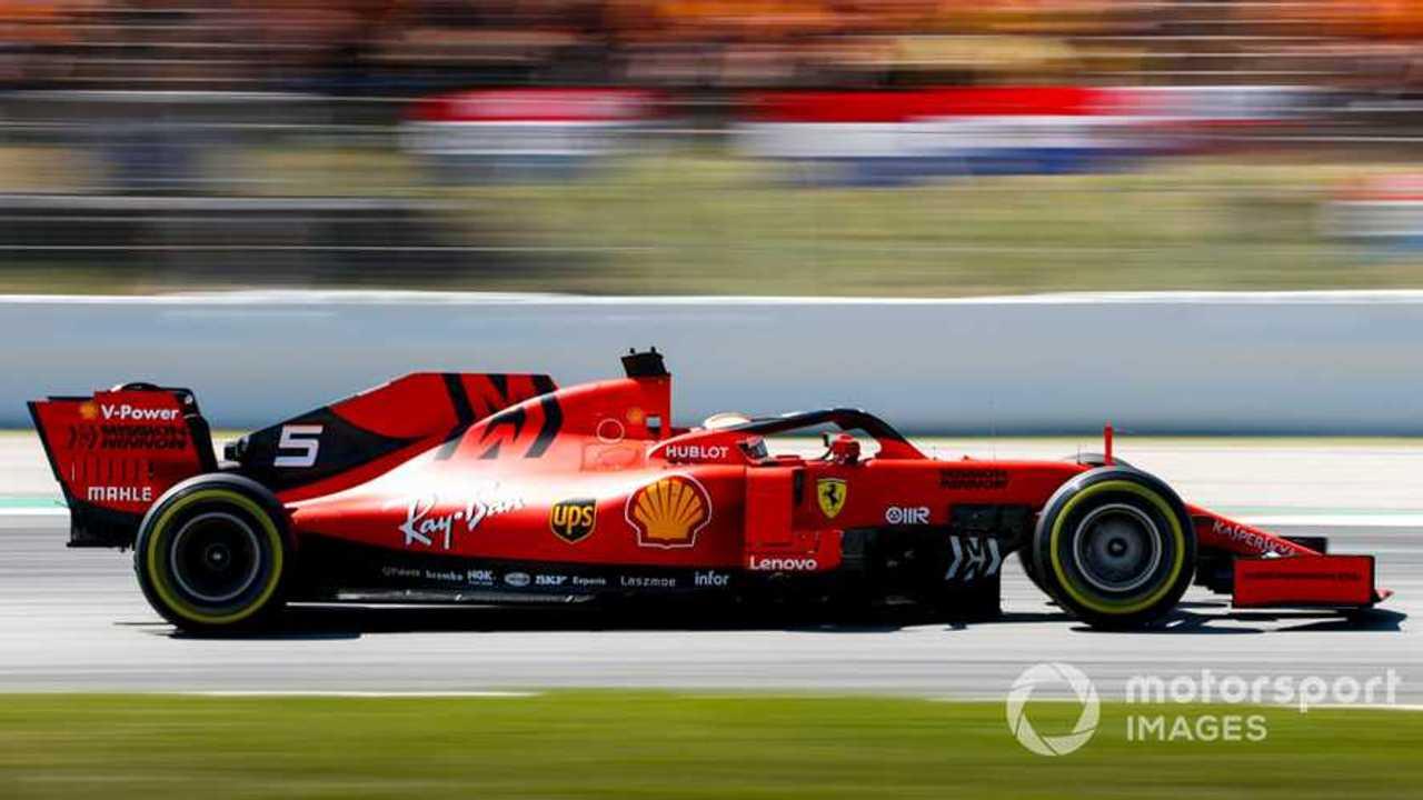 Sebastian Vettel at Spanish GP 2019
