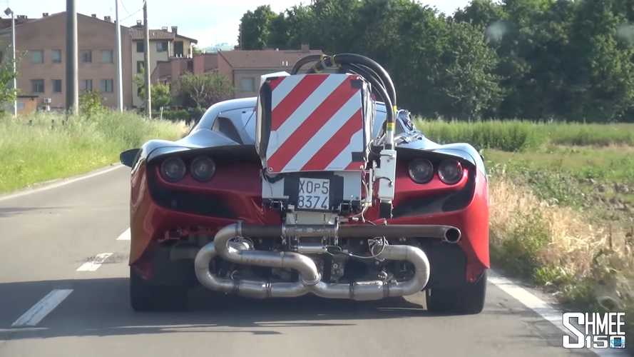 What Is On The Back Of This Ferrari F8 Tributo?
