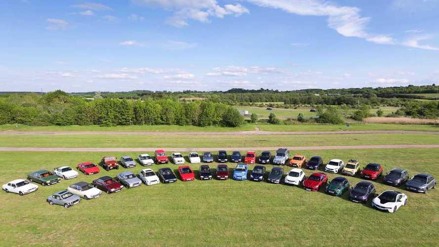 40 Years Of Automotive Evolution On Display