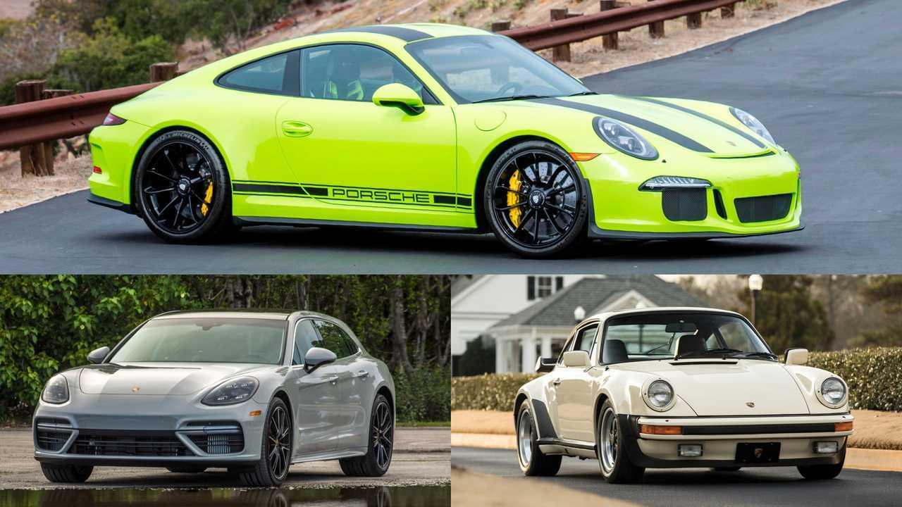 Porsche: 911R,930 Turbo, Panamera Turbo S Sport Turismo