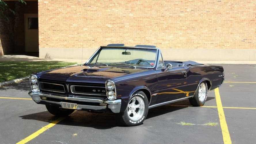 This 1965 Pontiac GTO Convertible Is One Sleek Machine