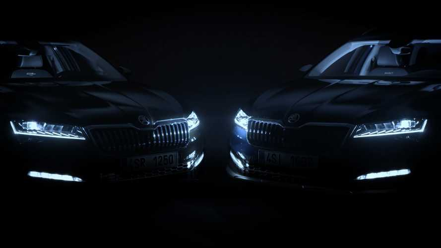 2020 Skoda Superb teaser