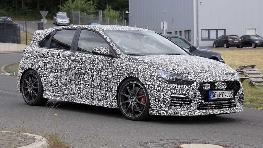 Hotter Hyundai i30 N Spied Testing Near Nürburgring