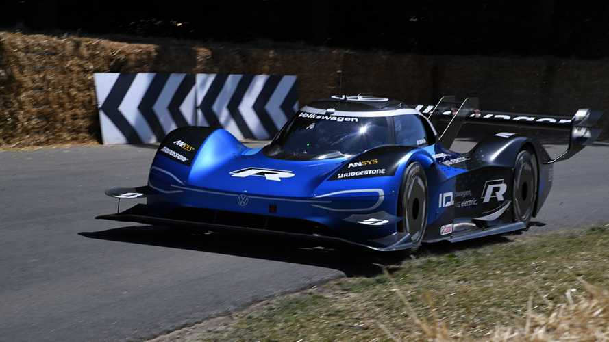 See VW ID.R Set New Goodwood Hillclimb Record With Incredible Ease
