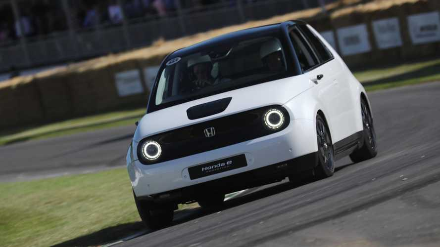 Honda e Videos Galore From 2019 Goodwood Festival of Speed