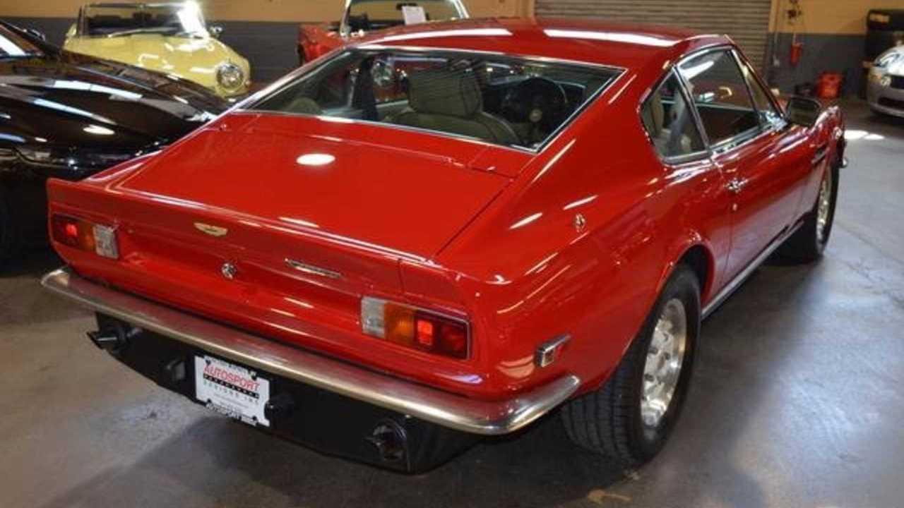 Brutal 1978 Aston Martin V8 Vantage Was Britain S First Supercar Motorious
