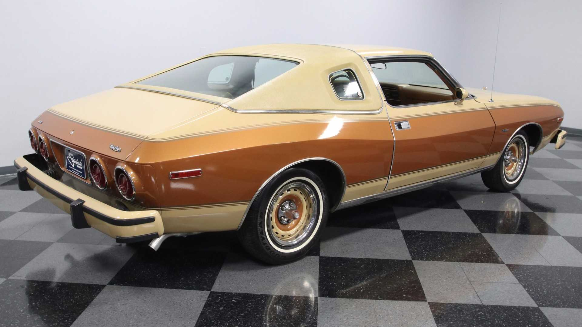 "[""1977 AMC Matador Barcelona Edition Coupé""]"