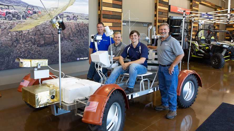 Polaris Built A Working Lunar Rover Replica And It's Awesome