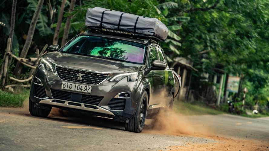 El Peugeot 3008 saca su lado más aventurero en esta preparación