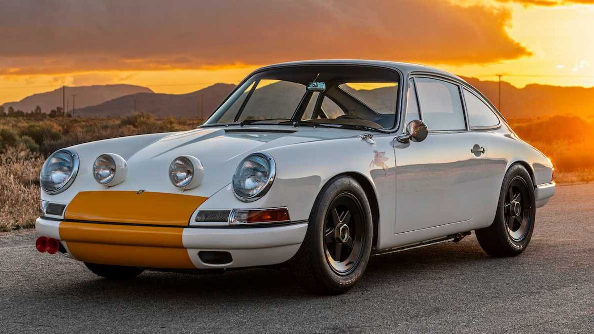 1968 Porsche 911K Outlaw from Emory is restomodding done right