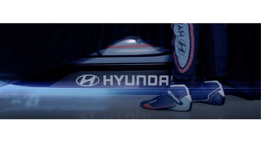 Hyundai Motorsport Teases Electric Race Car (w/Video)