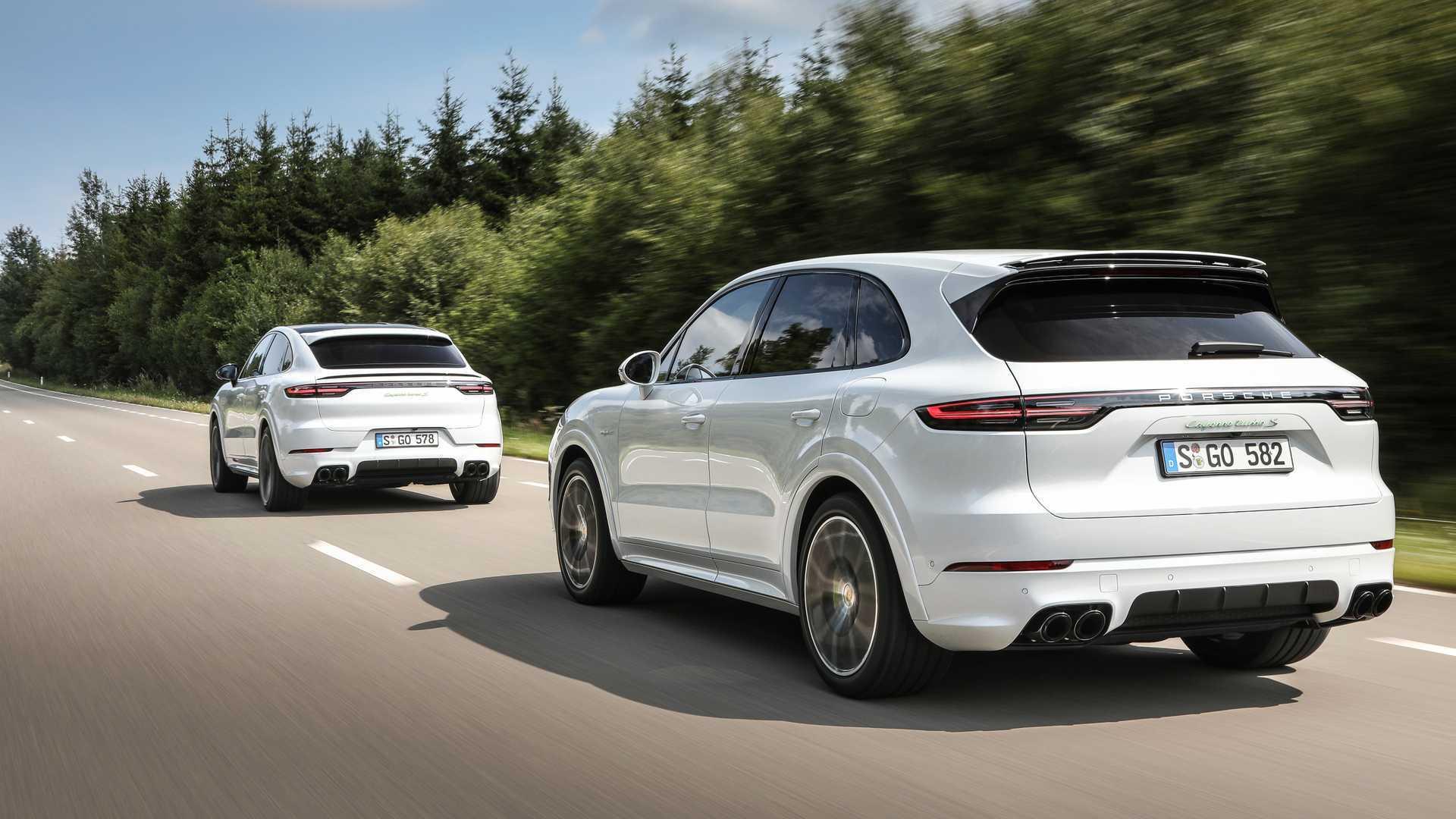 Porsche Adds Trio Of Hybrids To 2020 Cayenne Model Line