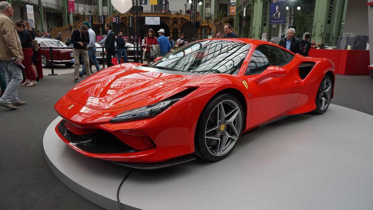 Ferrari F8 Tributo au Tour Auto