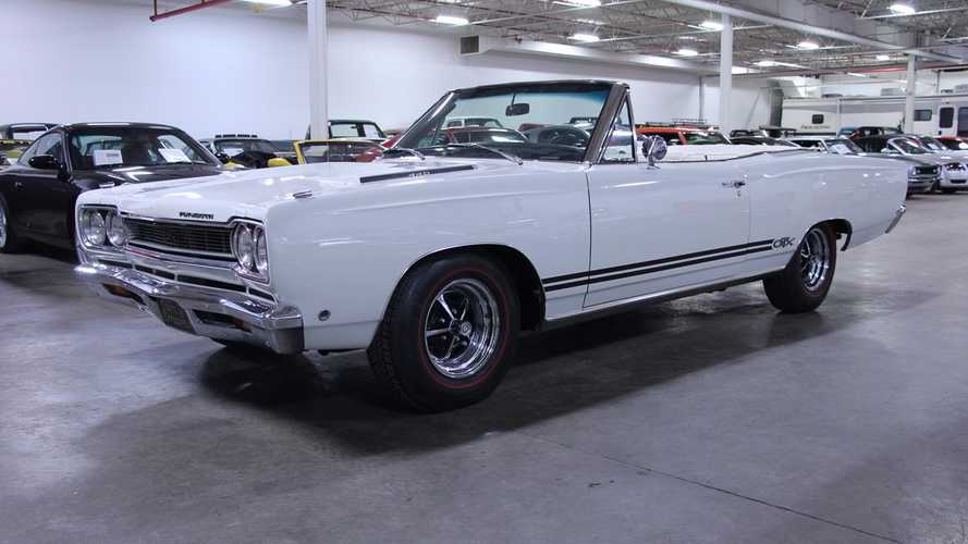 Rare 1968 Plymouth GTX 440 Convertible Could Be Yours For $75k