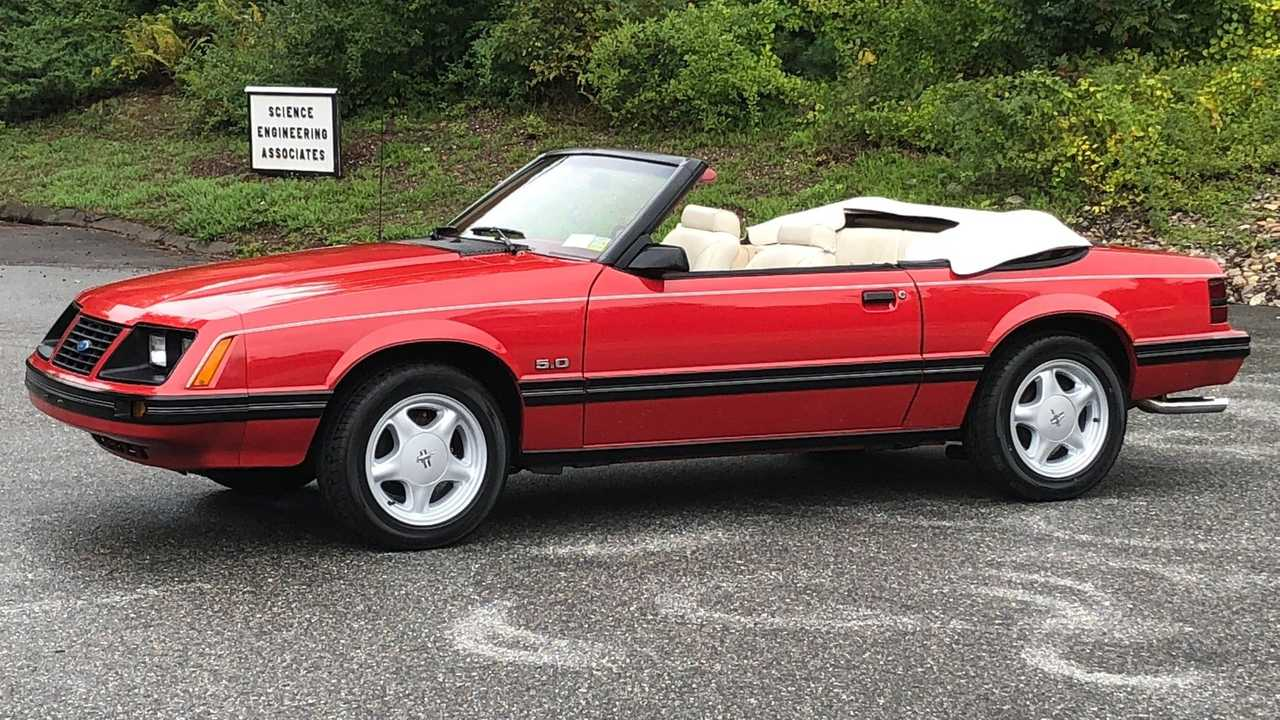 Early Fox: 1983 Ford Mustang GLX Convertible