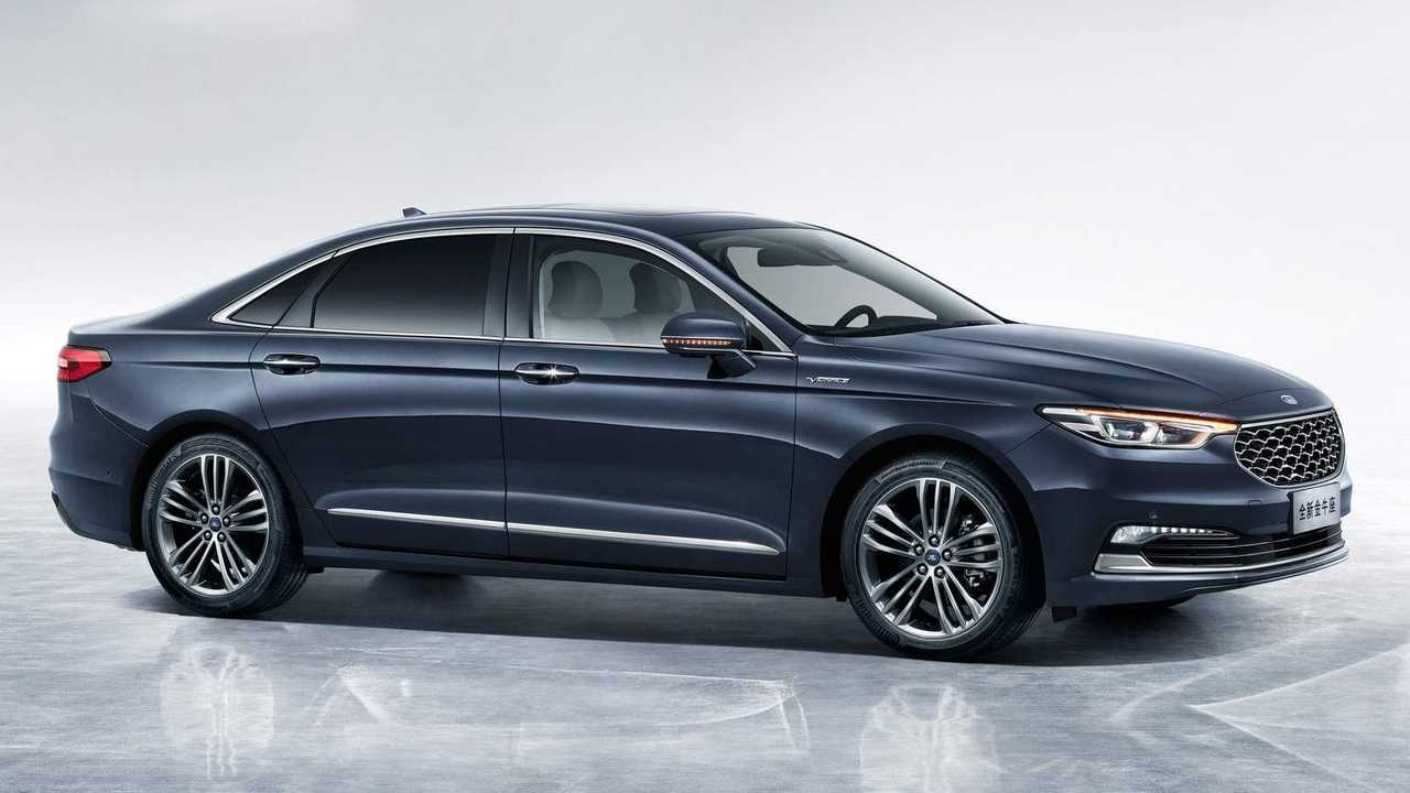 Ford Fusion S >> Ford Taurus Lives On In China And Even Gets A Facelift