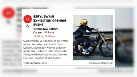 Exhibition To Honor The First Female TT Motorcyclist