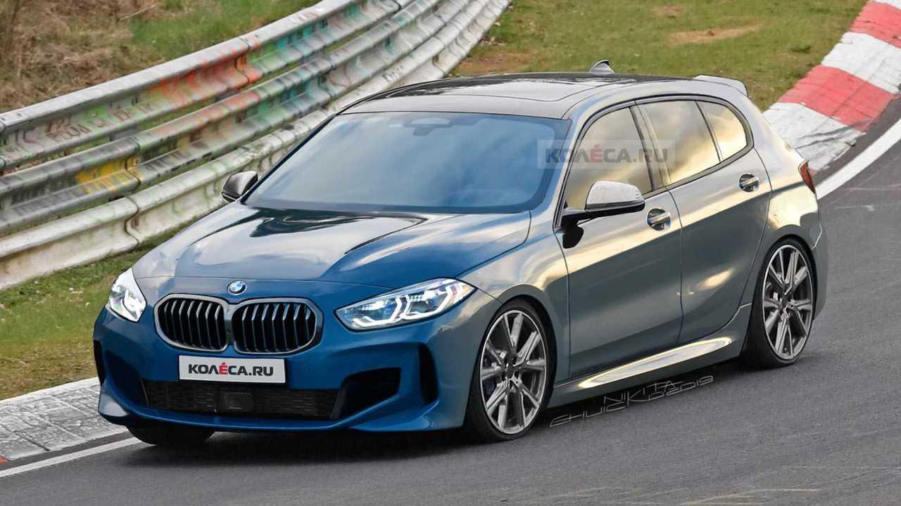 2020 BMW M135i rendering