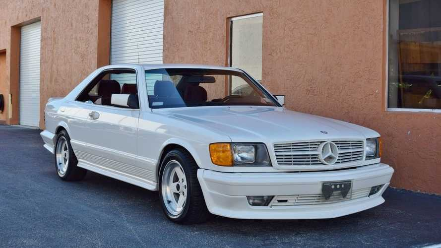 16 millió forintért vihető egy 1985-ös Mercedes-Benz 500 SEC AMG