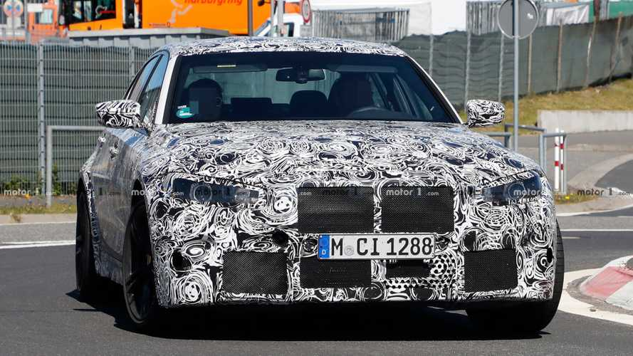 New BMW M3 prototypes spied going all out at the Nordschleife
