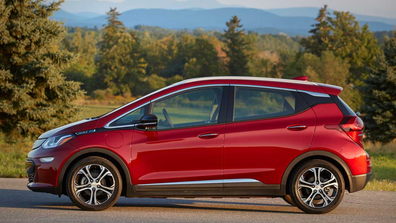 6. Chevrolet Bolt EV