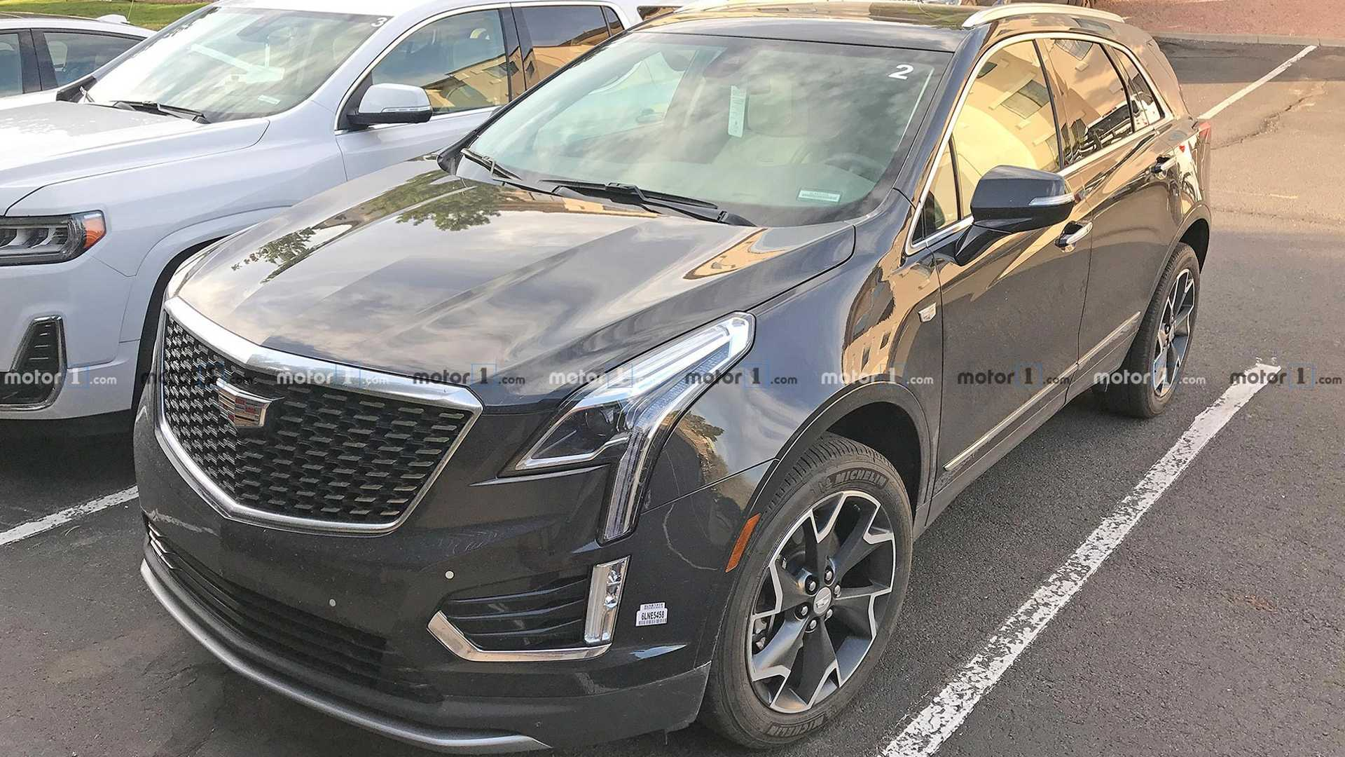 Spy Shots Cadillac Xt5 Performance and New Engine