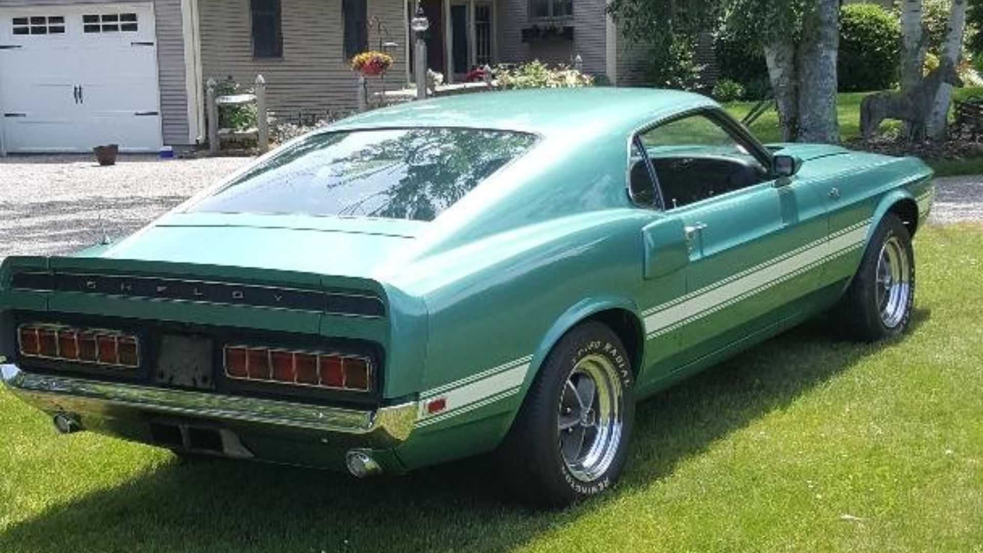 """[""""1969 Ford Shelby GT500 Would Be A Green Dream To Own""""]"""