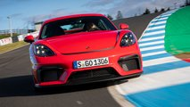 porsche cayman gt4 rs possible