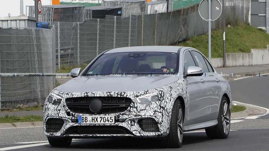 2021 Mercedes-AMG E63 Saloon spy photos