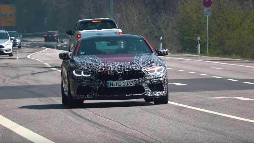 BMW M8 new spy photos