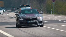 BMW M8 New Spy Photos