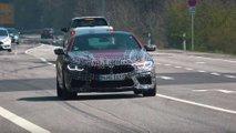 BMW M8 nuove foto spia