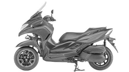 Yamaha Patents 3CT Three-Wheel Scooter Design