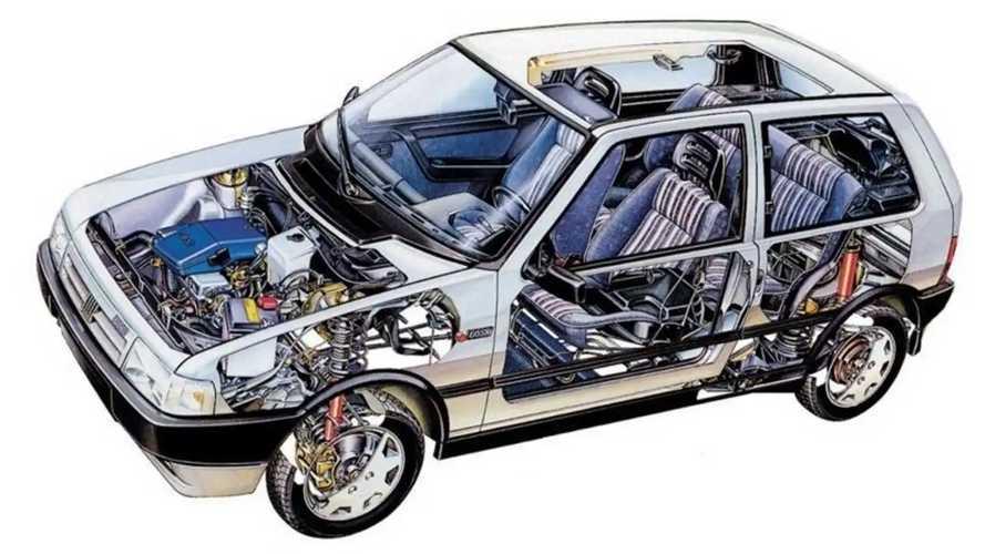 Fiat Uno, fotos históricas