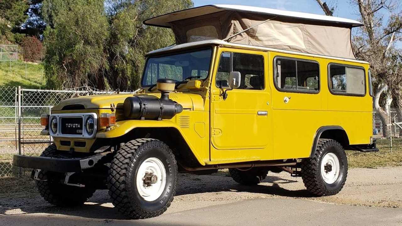 Toyota HJ45 1979 camper a la venta