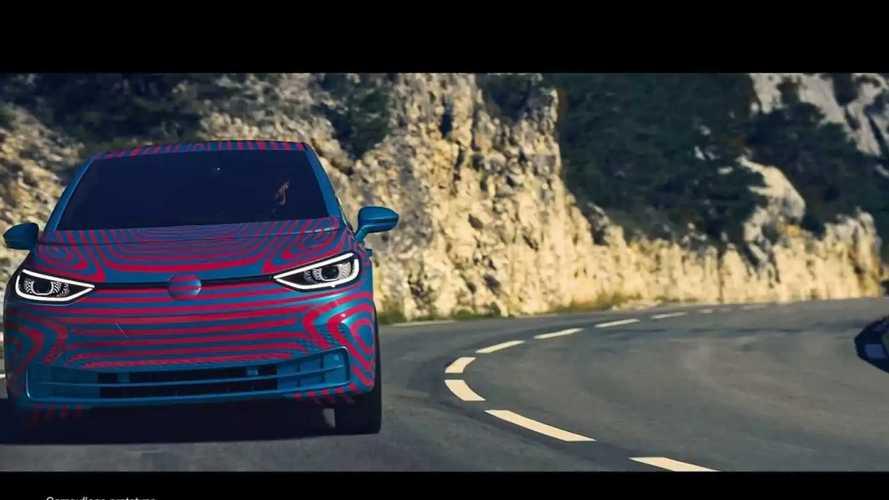 Volkswagen ID.3 mit neuer Tarn-Folierung geleakt (Mai 2019)