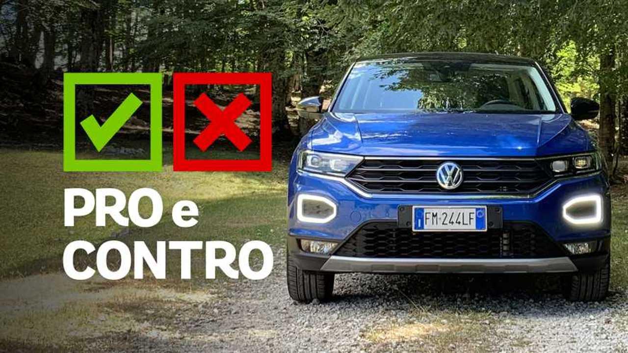 Volkswagen T-Roc 1.0 Style, pro e contro