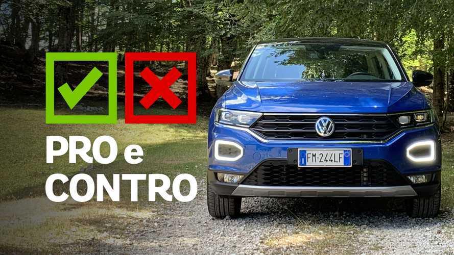 Volkswagen T-Roc 1.0 TSI Style, pro e contro
